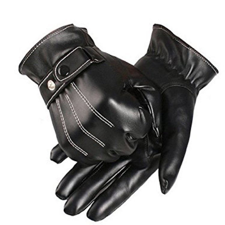 Coromose Leather Winter Super Driving Warm Gloves