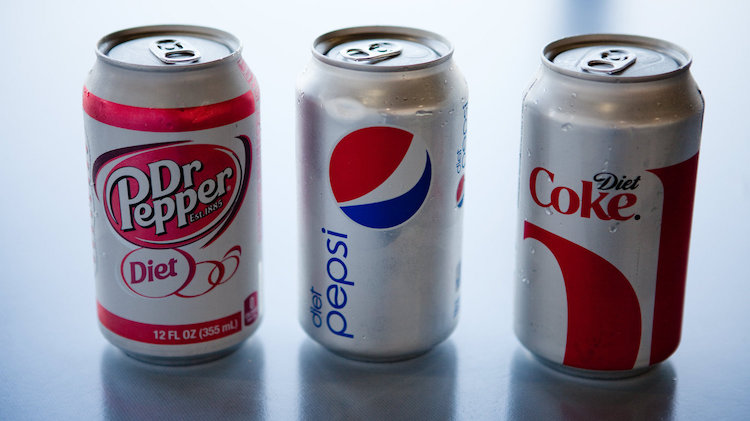 does stopping drinking diet coke