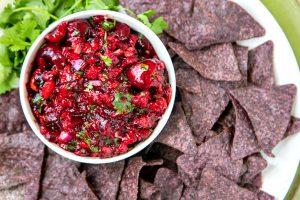 Fresh Cherry Chipotle Salsa