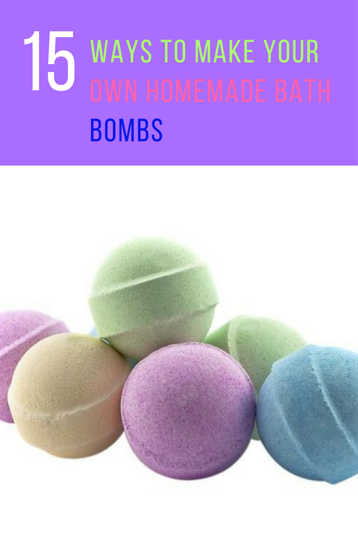 15 Fabulous Homemade Bath Bomb Recipes Ever Created | Ideahacks.com