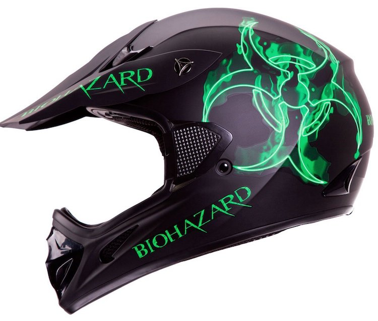 "IV2 ""BIOHAZARD"" Matte Black High Performance Motocross"