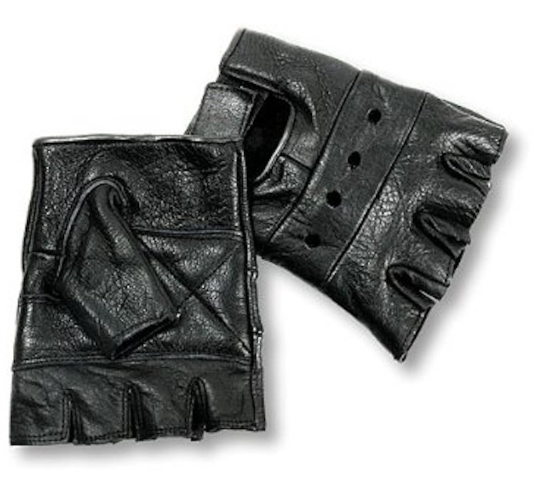 Interstate Leather Basic Fingerless Gloves