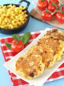 Macaroni & Cheese Pancakes