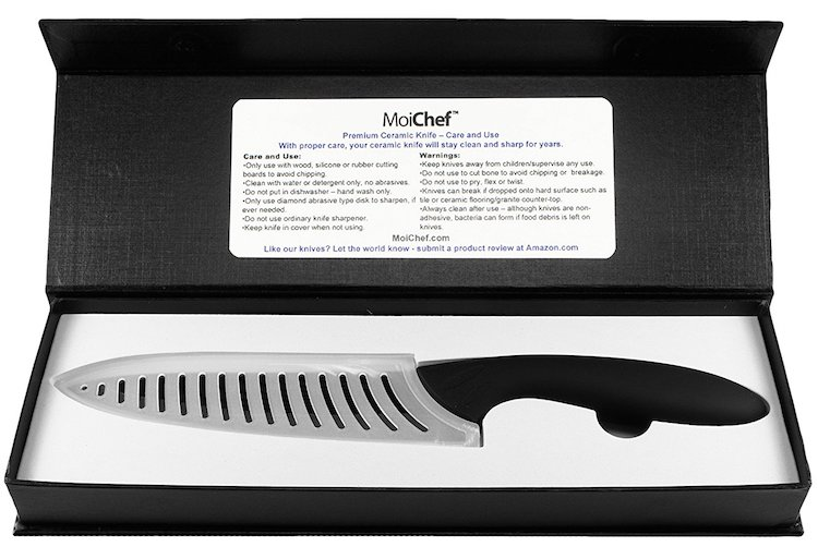 "MoiChef 7"" Professional Chef's Ceramic Knife"