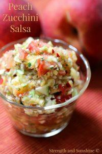 PeachZucchini Salsa