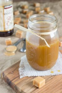 Salted Caramel Sauce in a Jar