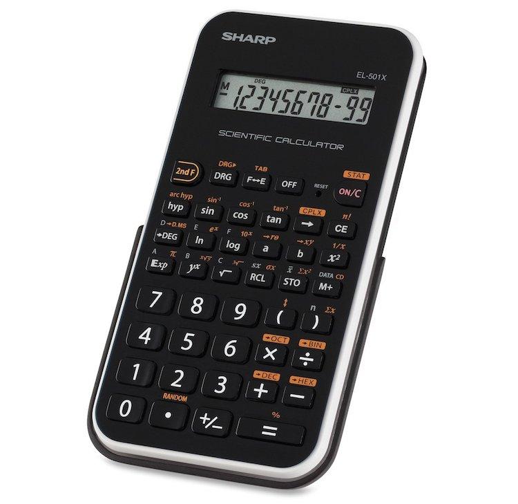 Sharp EL-501XBWH Scientific Calculator