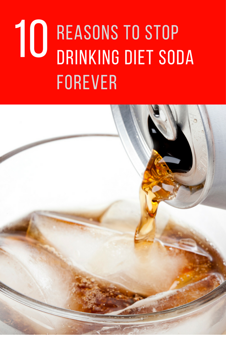 10 Reasons to Stop Drinking Diet Soda Forever. | Ideahacks.com
