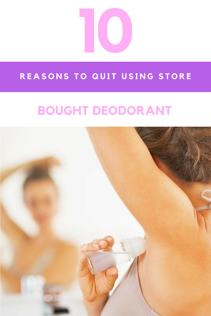 10 Reasons to Quit Using Store-Bought Deodorant & What To Use Instead. | Ideahacks.com