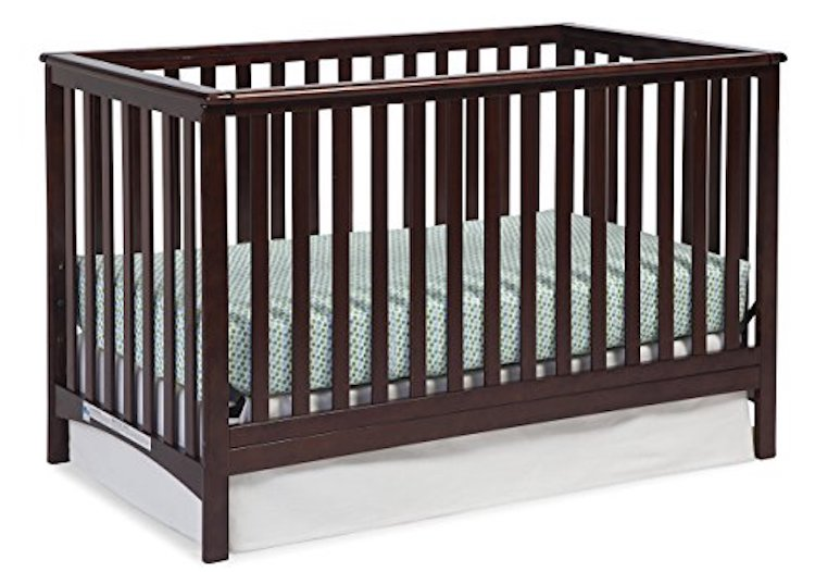 Stork Craft Hillcrest Fixed Side Convertible Crib