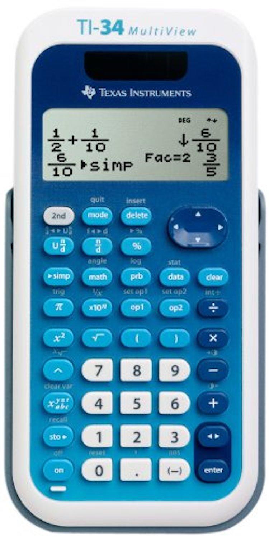 Texas Instruments TI-34 MultiView Scientific Calculator