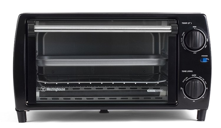 Westinghouse Select Series WTO1010B 4-Slice Countertop Toaster Oven