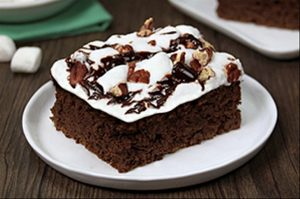 gluten-free mud pie brownies