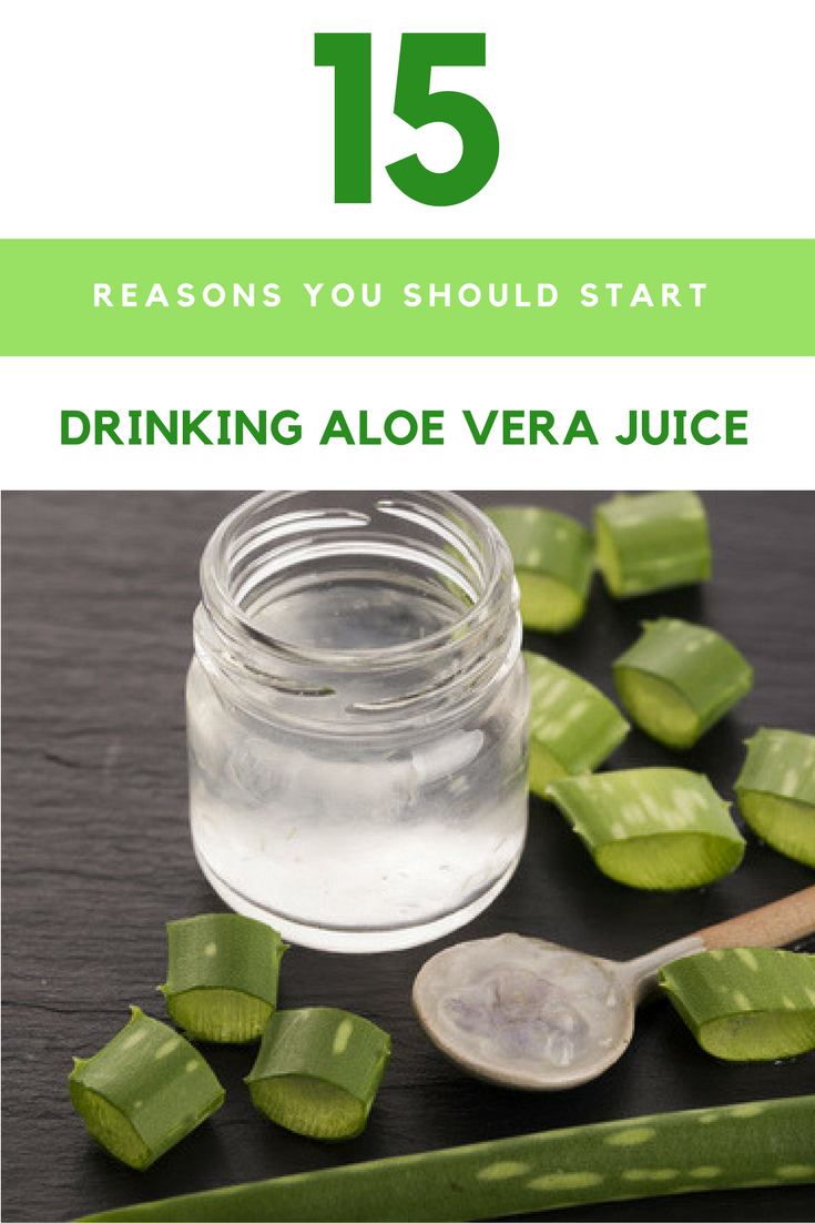 15 Reasons You Need to Be Drinking Aloe Vera Juice. | Ideahacks.com