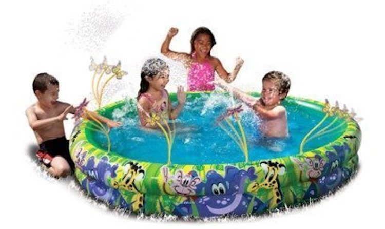 Banzai Spray and Splash Summer Fun Pool