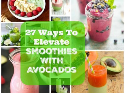 27 Ways To Elevate Your Smoothie With Avocados. | Ideahacks.com