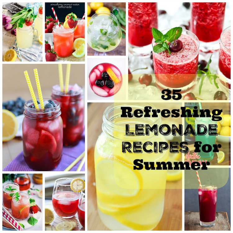 36 Refreshing Lemonade Recipes For Summer. | Ideahacks.com