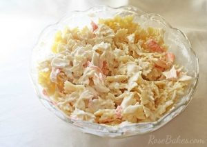 Buttermilk Crab Pasta Salad