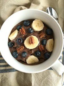 Chocolate Avocado Acai Bowl
