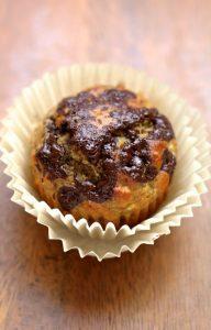 Chocolate Chunk Banana Oat Muffins