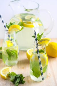 Coconut Water Ginger Lemonade