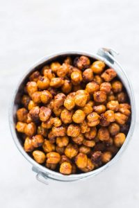 Crunchy Roasted Indian Masala Chickpeas