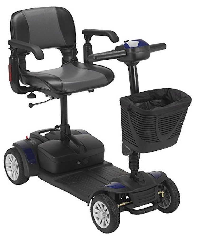 Drive Medical Spitfire Ex Travel 4-Wheel Mobility Scooter