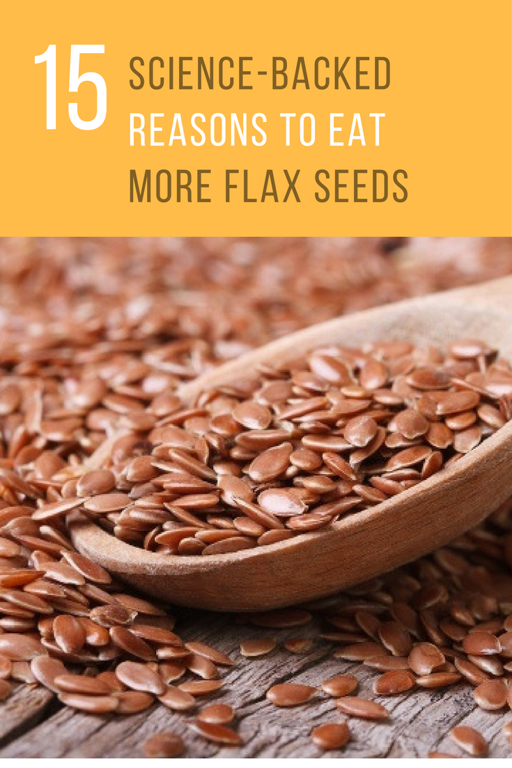 15 Amazing Reasons Flax Seed Will Help Supercharge Your Health. | Ideahacks.com