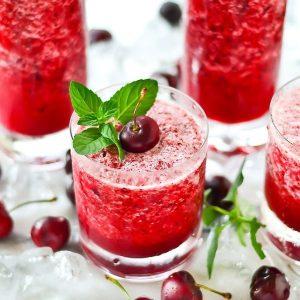 Frozen Cherry Lemonade