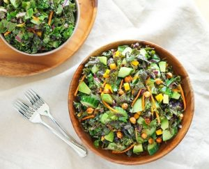 Glowing Green Kale Salad