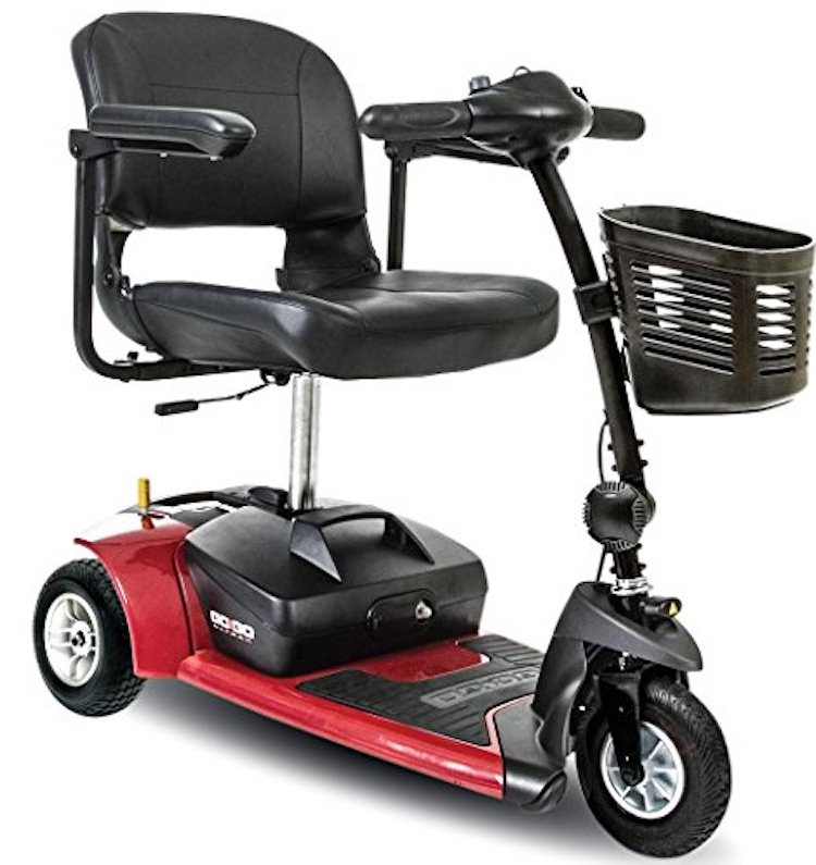 Go Go Ultra X 3-Wheel Travel Scooter
