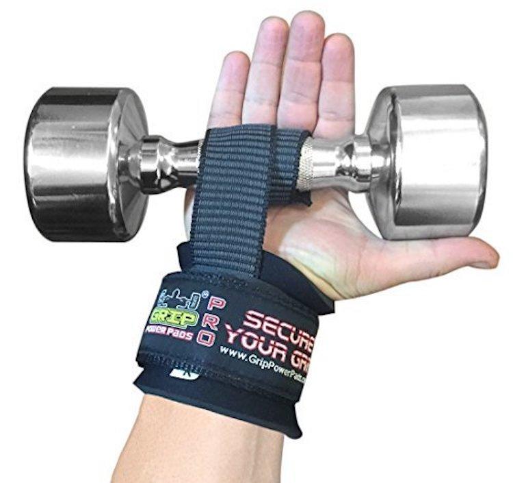 Grip Power Pads Wrist Wraps