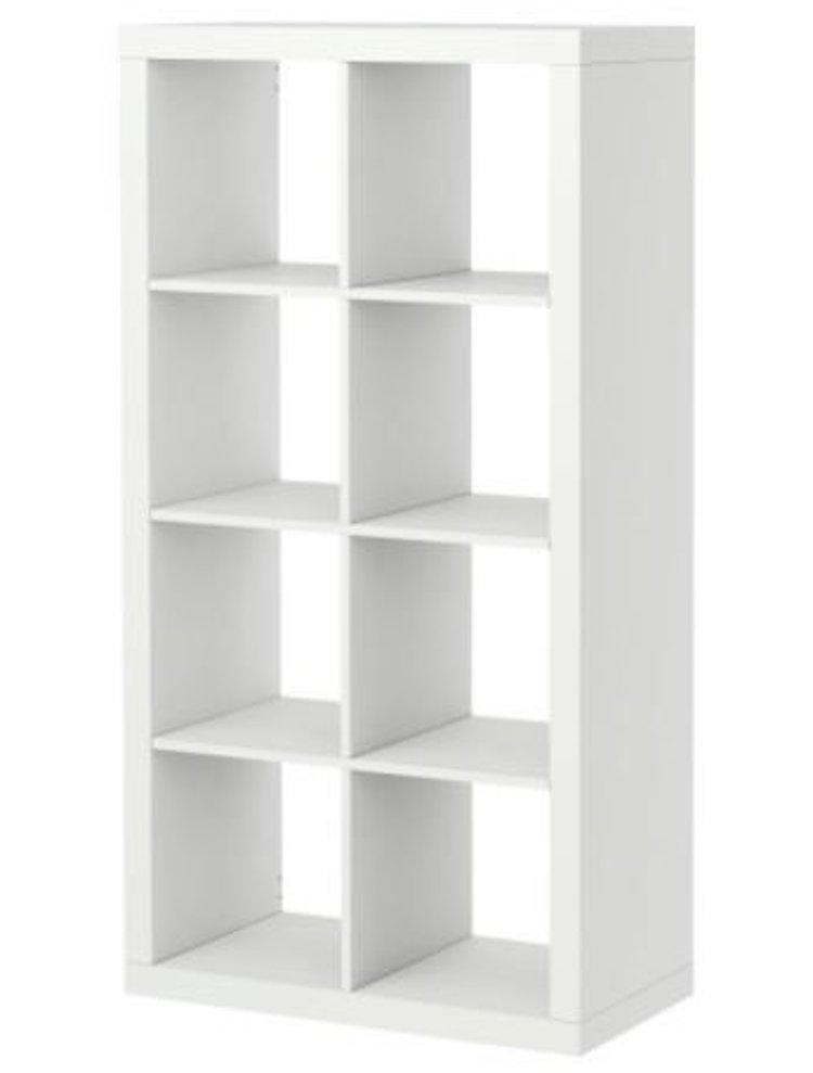 Ikea Kallax Bookcase Room Divider Cube Display