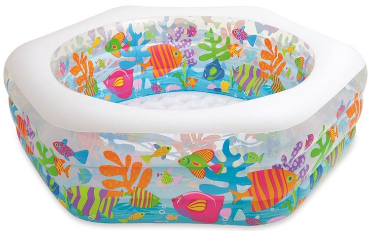 Intex Swim Center Ocean Reef Inflatable Pool