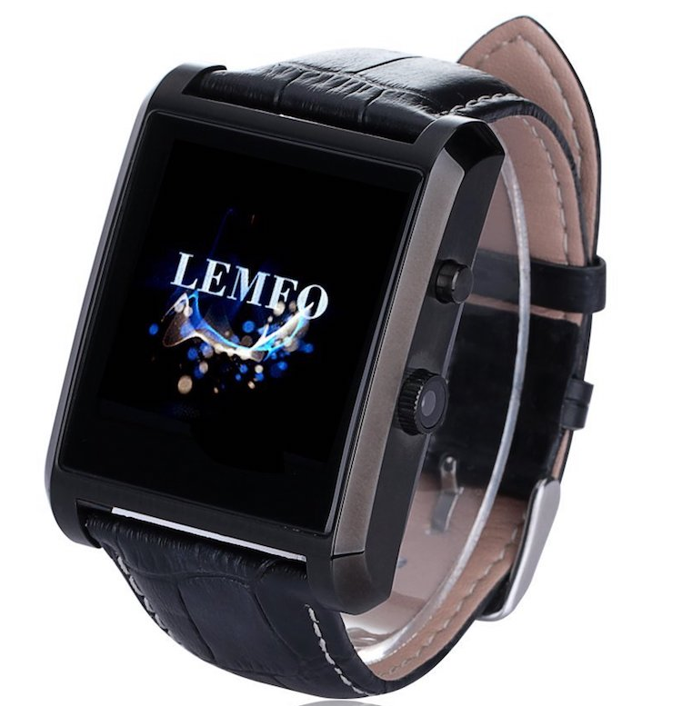 LEMFO Bluetooth Leather Smart Watch