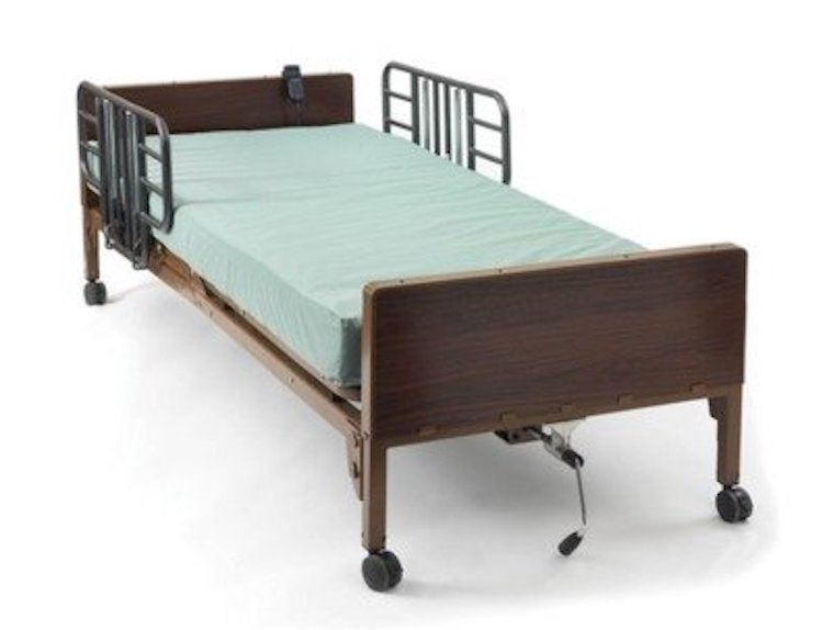 MDR107002E Medline Basic Beds Hospital Bed
