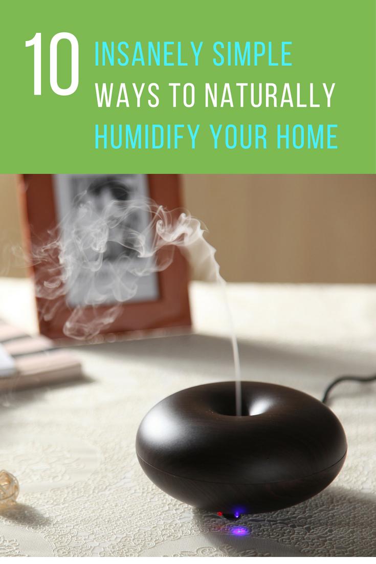10 Insanely Simple Ways To Naturally Humidify Your Home. | Ideahacks.com