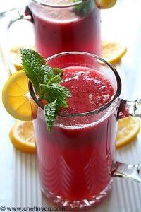 Plum Lemonade