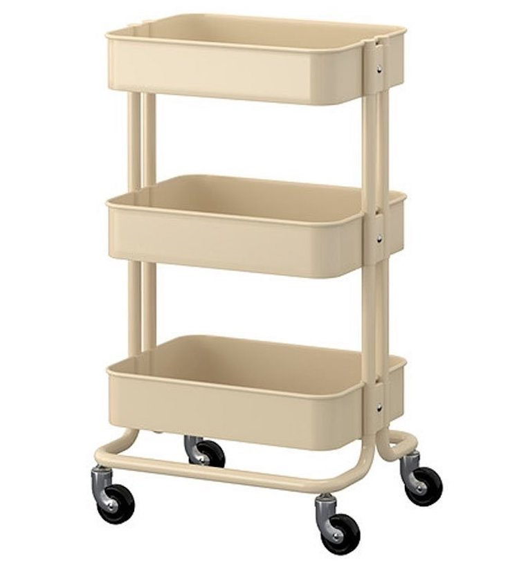 RASKOG Home Kitchen Bedroom Storage Utility Cart