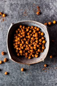 Southwest Spiced Crunchy Chickpeas