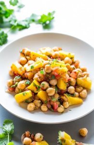 Tropical Chickpea Salad