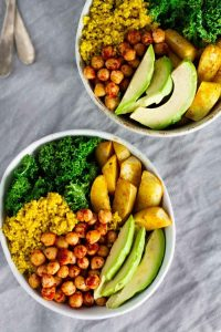 Turmeric Quinoa Power Bowls