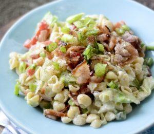 Weight Watcher's BLT Pasta Salad