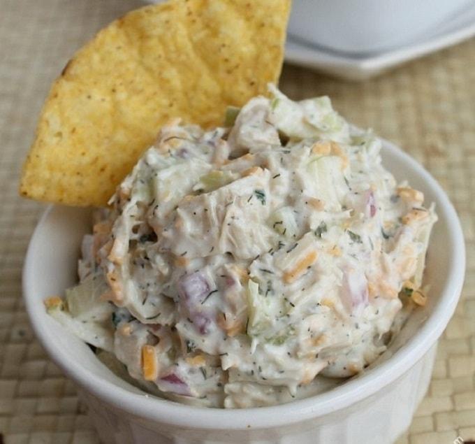 chicken salad with greek yogurt