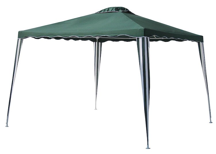 ALEKO 10×10 Iron Foldable PE Gazebo Canopy  sc 1 st  IdeaHacks & Top 10 Best Outdoor Canopy Gazebos Reviewed in 2018