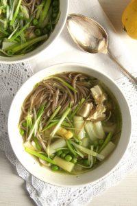 Asparagus Chicken Soup