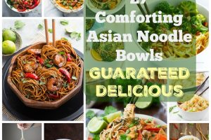 27 Comforting Asian Noodle Bowls Guaranteed Delicious. | Ideahacks.com