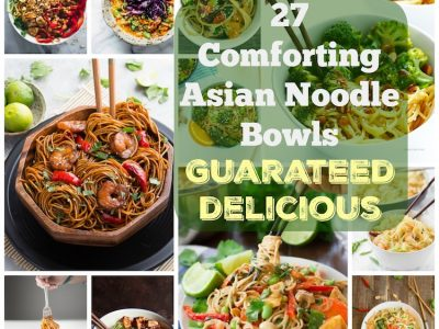 27 Comforting Asian Noodle Bowls Guaranteed Delicious. | Ideahacks.com