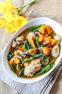 Cambodian Chicken & Vegetable Stew