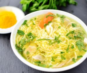 Chicken & Vegetable Soup